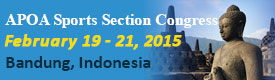 APOA Sports Injury Section Congress 2015, Indonesia