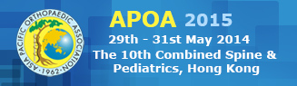 APOA Combined Spine and Pediatrics in Hong Kong 2015